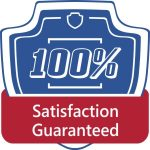 100% appliance repair satisfaction guaranteed